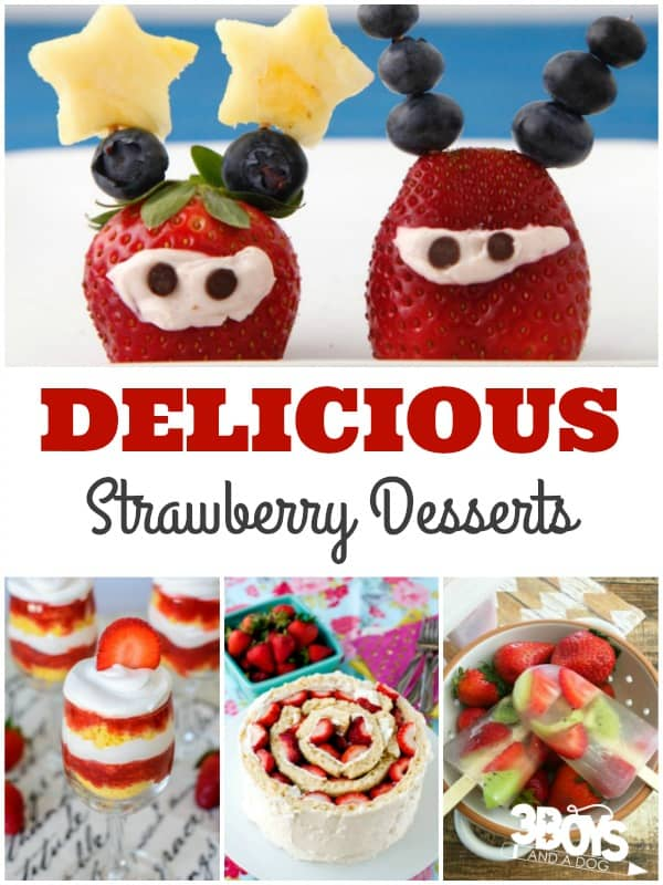 Delicious Desserts Using Strawberries