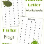 Find the Letter F is for Frogs {Unit Study}