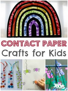 Fun Things For Kids To Do With Contact Paper