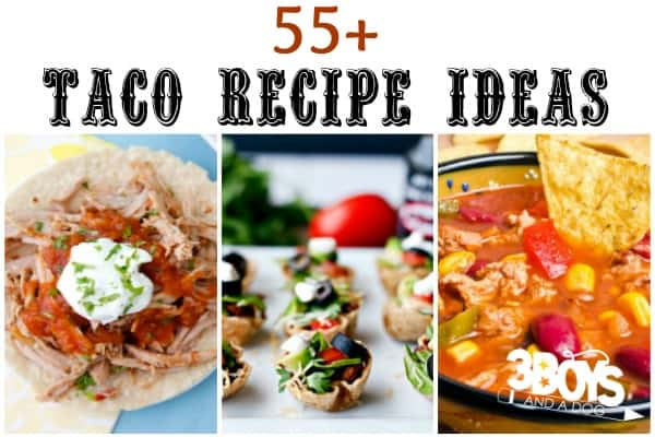 Unique Tacos and Taco Inspired Recipes