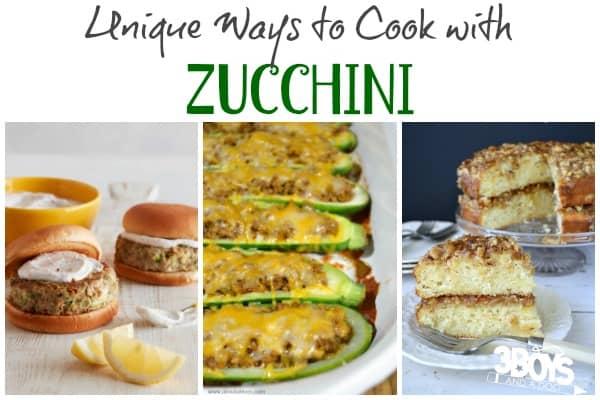 Unique Zucchini Recipes