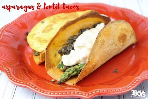 asparagus taco recipe
