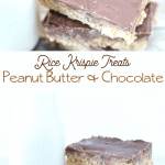 reeses peanut butter rice krispie treats