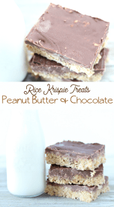 reeses peanut butter rice krispie treats