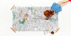 Pirasta Really Big Coloring Poster Review (NYC)