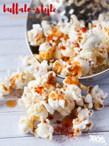 Buffalo-Style Hot Popcorn Recipe
