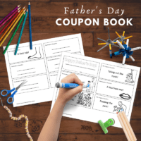 How to Make a Coupon Book for Dad
