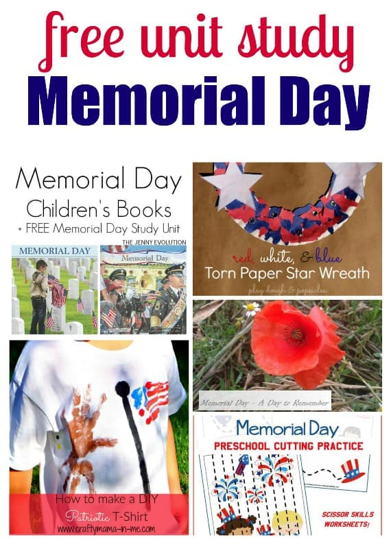free Memorial Day Unit Study