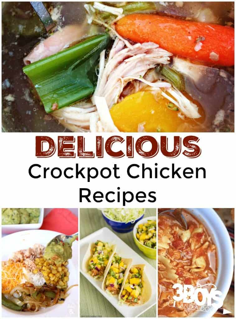 Delicious Chicken Recipes for the Crockpot