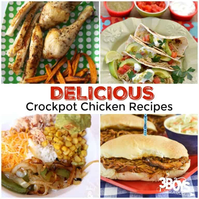 Delicious Crockpot Chicken Recipes