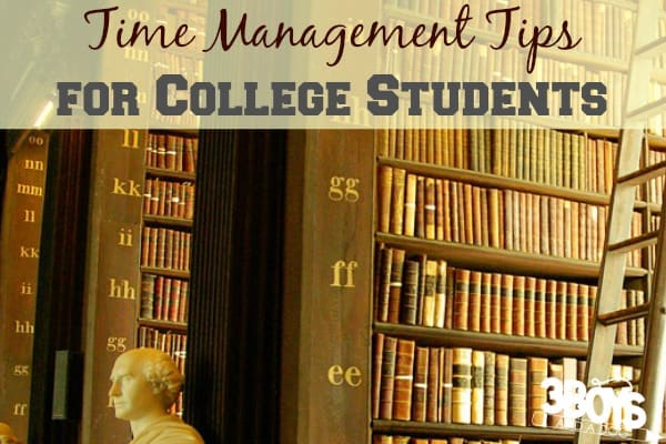 How College Students Can Manage Their Time