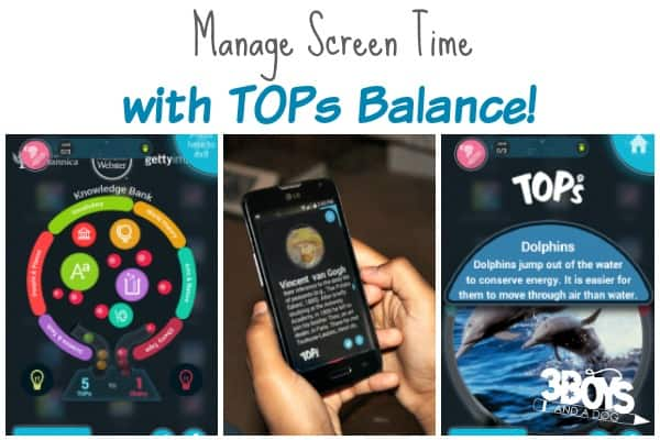 Manage Teen Screen Time with TOPs Balance