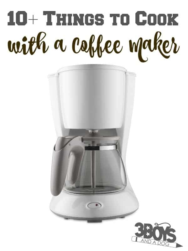 Over 10 Things to Cook with a Coffee Machine