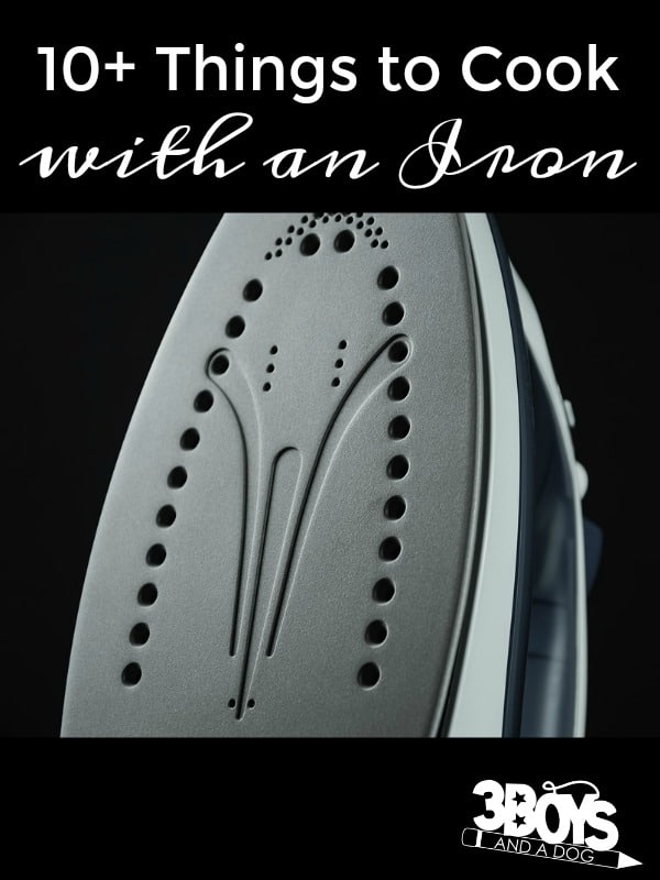 Over 10 Things to Cook with an Iron