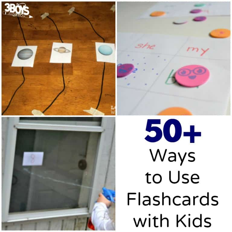 Over 50 Ways to Use Flashcards