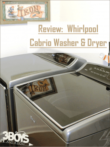 Review: Whirlpool Cabrio Washer and Dryer