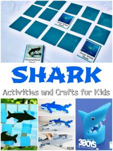 Sharks Activities and Crafts for Kids