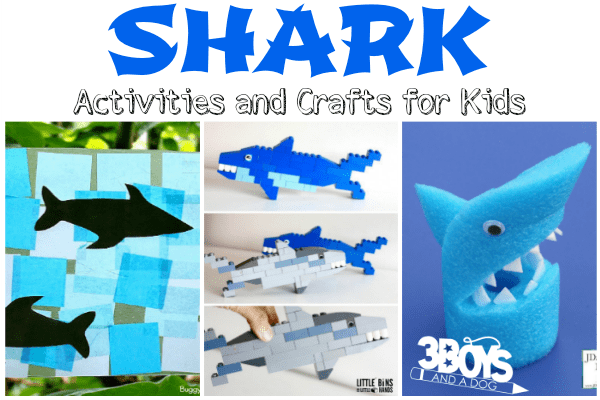Shark Activities and Crafts for Kids
