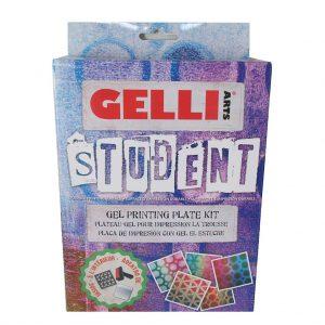 Gelli Arts Student Gel Printing Plate Kit Review (NYC)