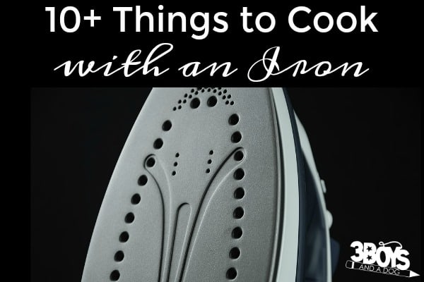 Things to Cook with an Iron