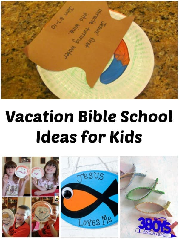 Vacation Bible School Ideas for Kids