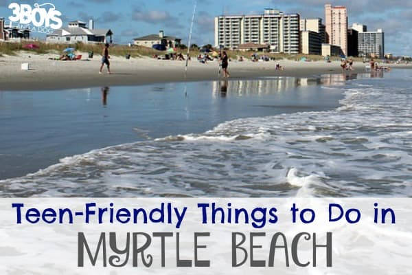 10 Things for Teens to Do in Myrtle Beach