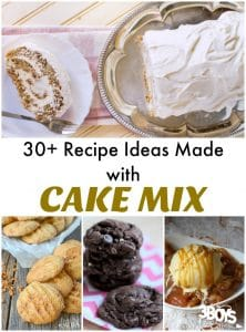 Cake Mix Recipe Ideas