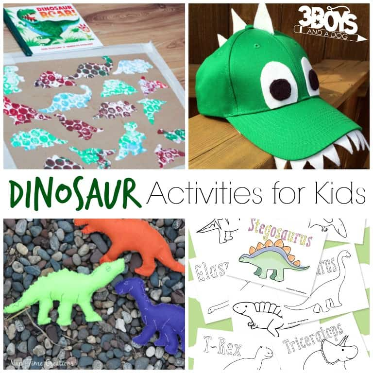 over 40 dinosaur printables and activities for kids 3 boys a