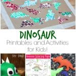 Over 40 Dinosaur Printables and Activities for Kids