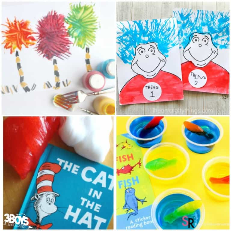 Dr Seuss Activities and Snacks for Kids