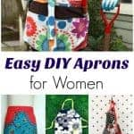 Easy DIY Aprons for Women