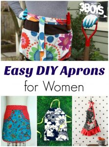 Easy DIY Aprons for Women