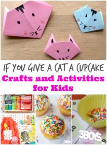 If You Give a Cat a Cupcake Crafts and Activities for Kids