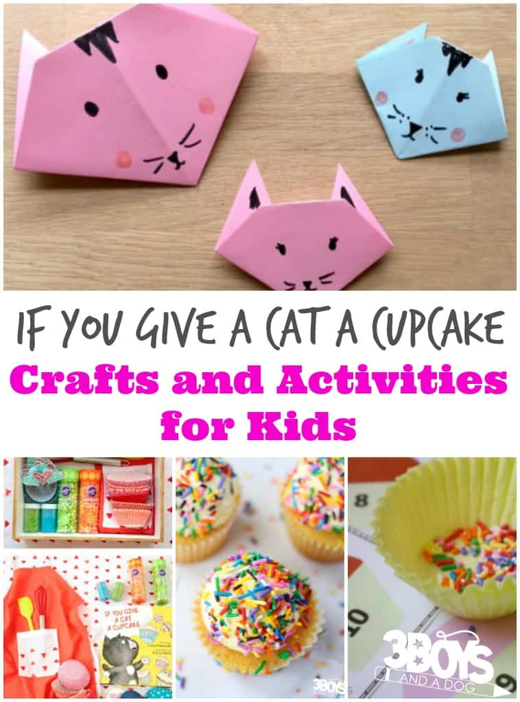 If You Give a Cat a Cupcake Activities for Preschool