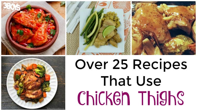 Over 25 Chicken Thigh Recipes