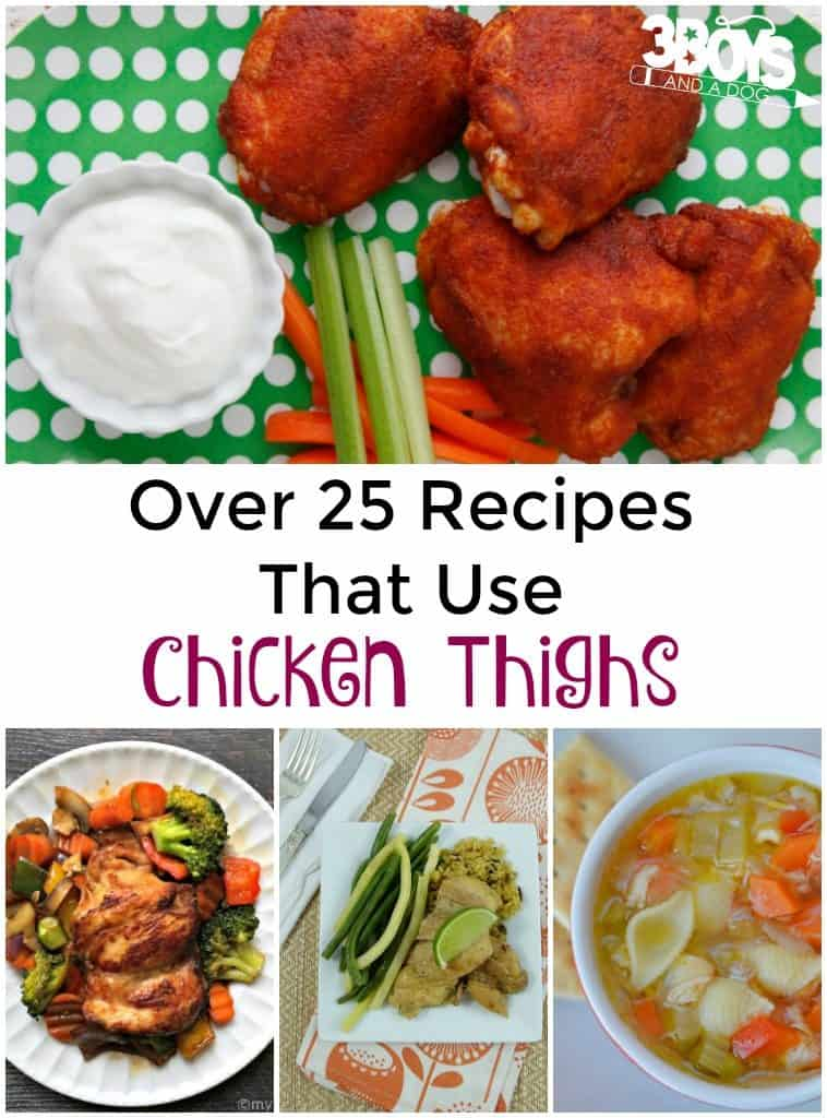 Over 25 Recipes That Use Chicken Thighs