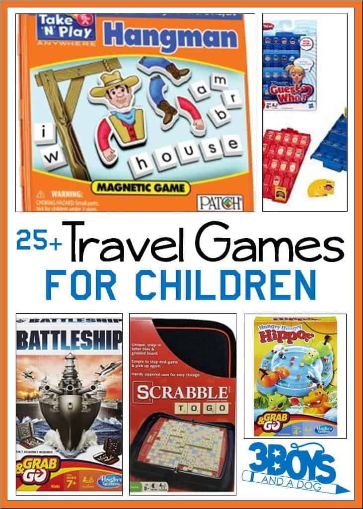 Over 25 road trip travel games for kids