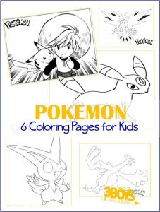Printables: 6 Pokemon Coloring Pages