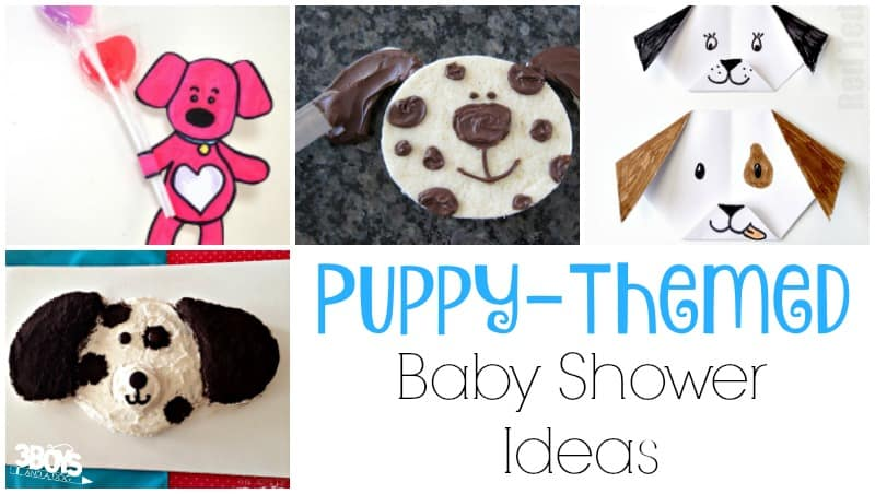 Puppy Themed Ideas for a Baby Shower