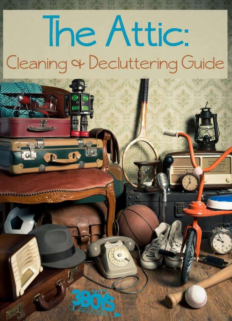The Attic cleaning and decluttering guide