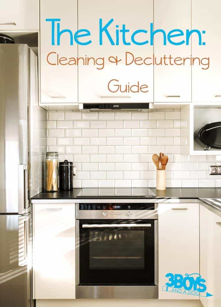 The Kitchen Cleaning and Decluttering Guide