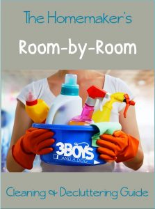 The Homemaker's Cleaning Guide (sorted by room)