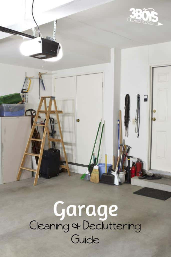 garage cleaning and organizing guide