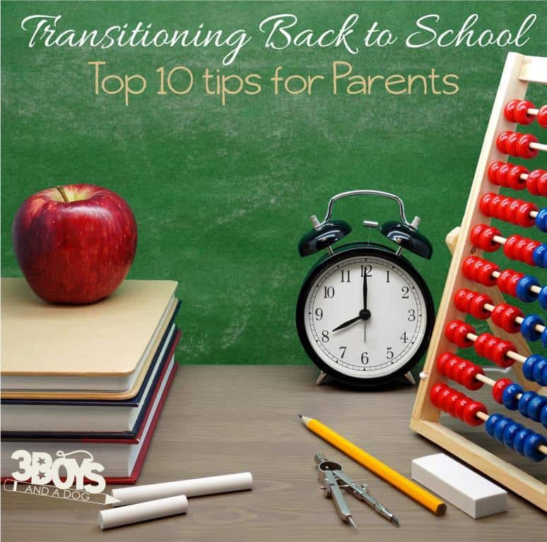 tips for avoiding last minute back to school panic