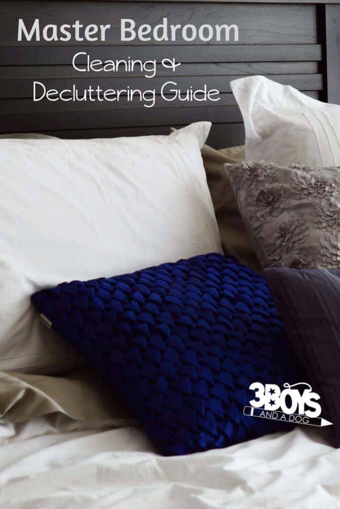 master bedroom cleaning and decluttering guide