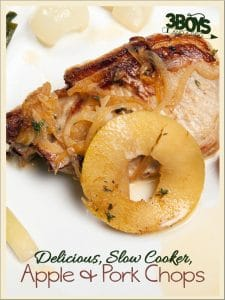 Apple and Pork Chops in Crockpot Recipe