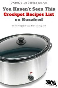 You Haven't Seen This Crockpot Recipes List on Buzzfeed