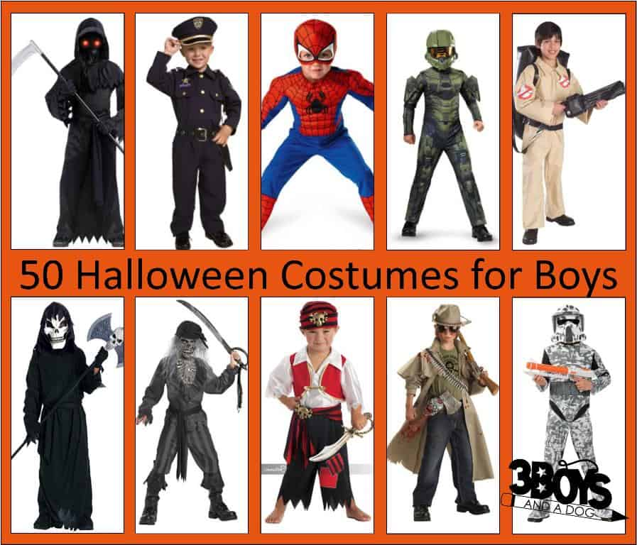 50 Boys Halloween Costumes  sc 1 st  3 Boys and a Dog & 50 Halloween Costumes For Boys u2013 3 Boys and a Dog