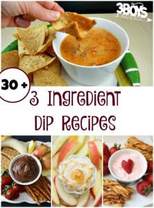 Over 30 Three-Ingredient Dips