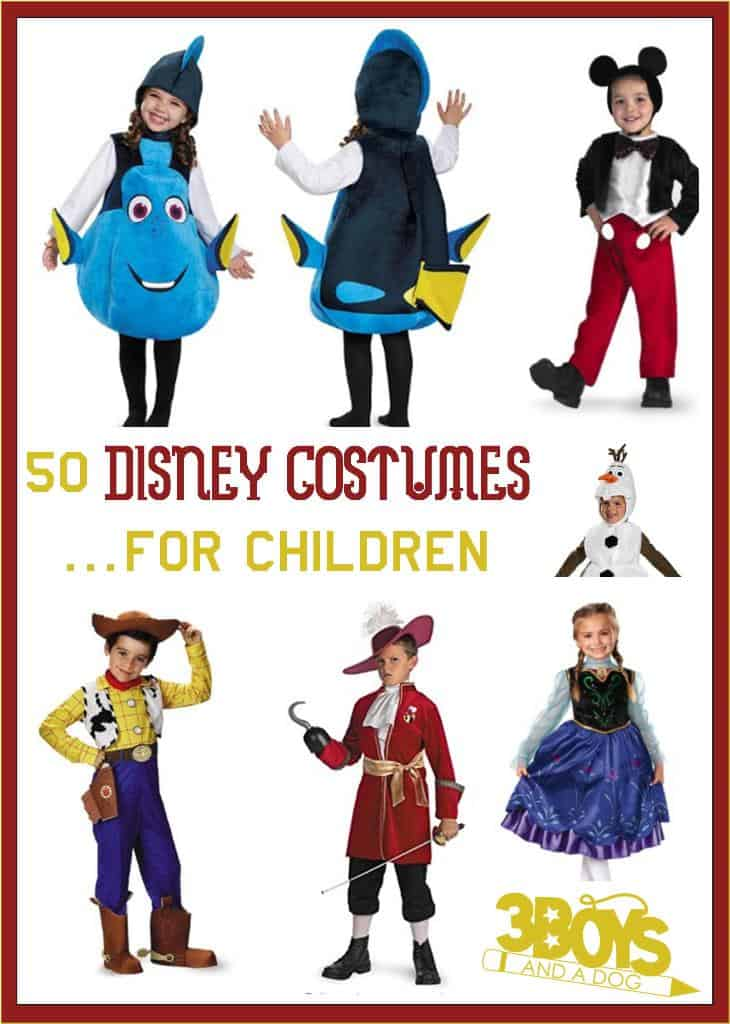 50 Disney Costumes for Children